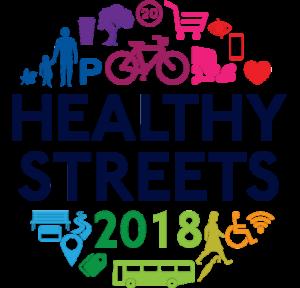 Logo healthy streets 2018